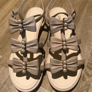 Never worn Chanel Sandals!